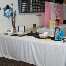 Items on table
