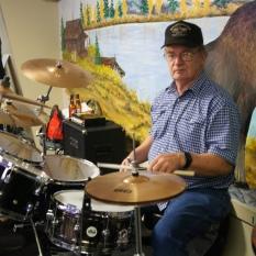 Male drummer