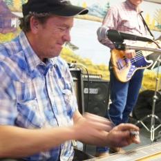 Man playing instrumet
