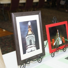Silent auction framed pictures